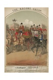 Muscical Score for the Escort Galop by Charles Godfrey Giclee Print by Alfred Concanen
