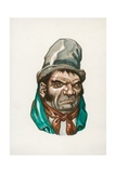 Bill Sikes, Oliver Twist Giclee Print by Peter Jackson