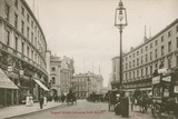 Regent Street, London, Showing Cafe Royal Photographic Print