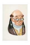 Mr Pickwick, the Pickwick Papers Giclee Print by Peter Jackson