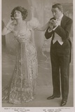 Lily Elsie and Joseph Coyne in the Merry Widow Photographic Print