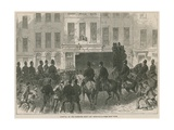 Removal of the Fenian Prisoners from the Courthouse at the Bow Street Giclee Print