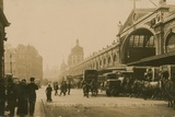 Smithfield Meat Market, London Photographic Print by  English Photographer
