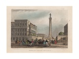 Duke of York's Column, London Giclee Print by John Francis Salmon