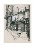The Vigo Street Entrance to Albany, London Giclee Print by Peter Jackson