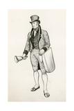Bell Ringer Giclee Print by Peter Jackson