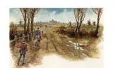 Dick Whittington Arriving in London Giclee Print by Peter Jackson
