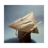 Sea-Hunter's Hat Made from a Single Piece of Birch Bark That Protected the Eyes from the Arctic Sun Giclee Print
