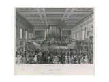 Exeter Hall: the Great Anti-Slavery Meeting, 1841 Giclee Print by Thomas Hosmer Shepherd