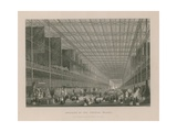 Interior of the Crystal Palace Giclee Print by Thomas Hosmer Shepherd