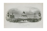 London University College, with the Intended Wings Giclee Print by  English School