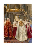 Coronation of King Edward VII and Queen Alexandra, 1904 Giclee Print by Byam Shaw