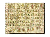 Codex Cospi - Magical Calendar Giclee Print
