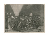 A Night on the Serpentine, Hyde Park, London Giclee Print
