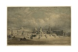 Design for a National Naval Monument for Trafalgar Square Giclee Print