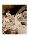 Cliff Dwelling at Mesa Verde Lámina giclée