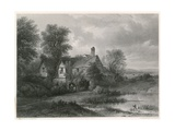 In Old Hyde Park, London Giclee Print by Patrick Nasmyth
