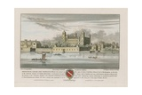 Suffolk House, Charing Cross, London Giclee Print by Wenceslaus Hollar