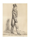 Lord Harrowby Giclee Print by Richard Dighton