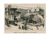 Sketches of Gipsy Life; Sketch Near Latimer Road, Notting Hill Giclee Print by William Heysham Overend