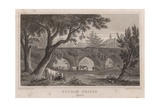 Eltham Bridge, Kent Giclee Print by Henry Gastineau