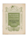 Fa 1924 Cup Final Programme Giclee Print