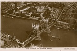 The Tower and Tower Bridge Photographic Print