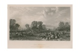Hyde Park in 1851 Giclee Print by James Duffield Harding