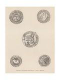 The Seals of the Knights Hospitallers of St John of Jerusalem Giclee Print