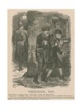 Whitechapel, 1888 Giclee Print by John Tenniel