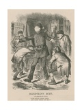 Blind-Man's Buff Giclee Print by John Tenniel