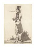 Businessman of London Giclee Print by Richard Dighton
