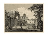 Scotland Yard with Part of the Banqueting House Giclee Print by Paul Sandby