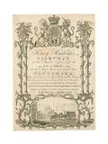 Henry Hastings, Nightman, Trade Card Giclee Print