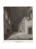 Interior of Crosby Hall, Looking South Giclee Print by Frederick Nash