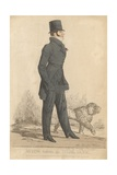 Henry Somerset, 7th Duke of Beaufort; a View Taken in Hyde Park Giclee Print by Richard Dighton