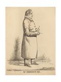 Mr Hobhouse Giclee Print by Richard Dighton