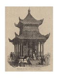 Entrance to the Chinese Collection Giclee Print