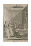Nan Holland and Tristram Savage Robbing Dr Trotter in Moorfields Giclee Print by Joseph Nicholls