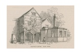 Andrew Marvel's House, Highgate Giclee Print by Frederick William Fairholt