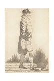 Thomas Richardson; a Friend in Lombard Street Giclee Print by Richard Dighton