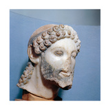 Head of Zeus, Father of the Gods Giclee Print