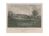 Kentish Town and Highgate, Middlesex, from the South Giclee Print by James Storer