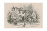 Andrew Marvel's House, Highgate, London Giclee Print by Frederick William Fairholt