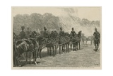 A Battery of the Royal Horse Artillery Firing a Royal Salute in Hyde Park When the Bells… Giclee Print