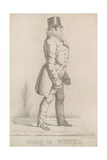 William Arden, 2nd Baron Alvanley; Going to White's Giclee Print by Richard Dighton