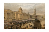 Trafalgar Square, London, 7 March 1863 Giclee Print by Robert Dudley