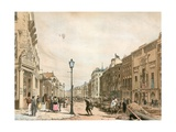 Piccadilly Looking Towards the City Giclee Print by Thomas Shotter Boys