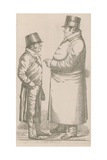 Mr Damington and Mr Tremloe, a Contract Giclee Print by Richard Dighton