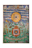 Divination Thangka Giclee Print